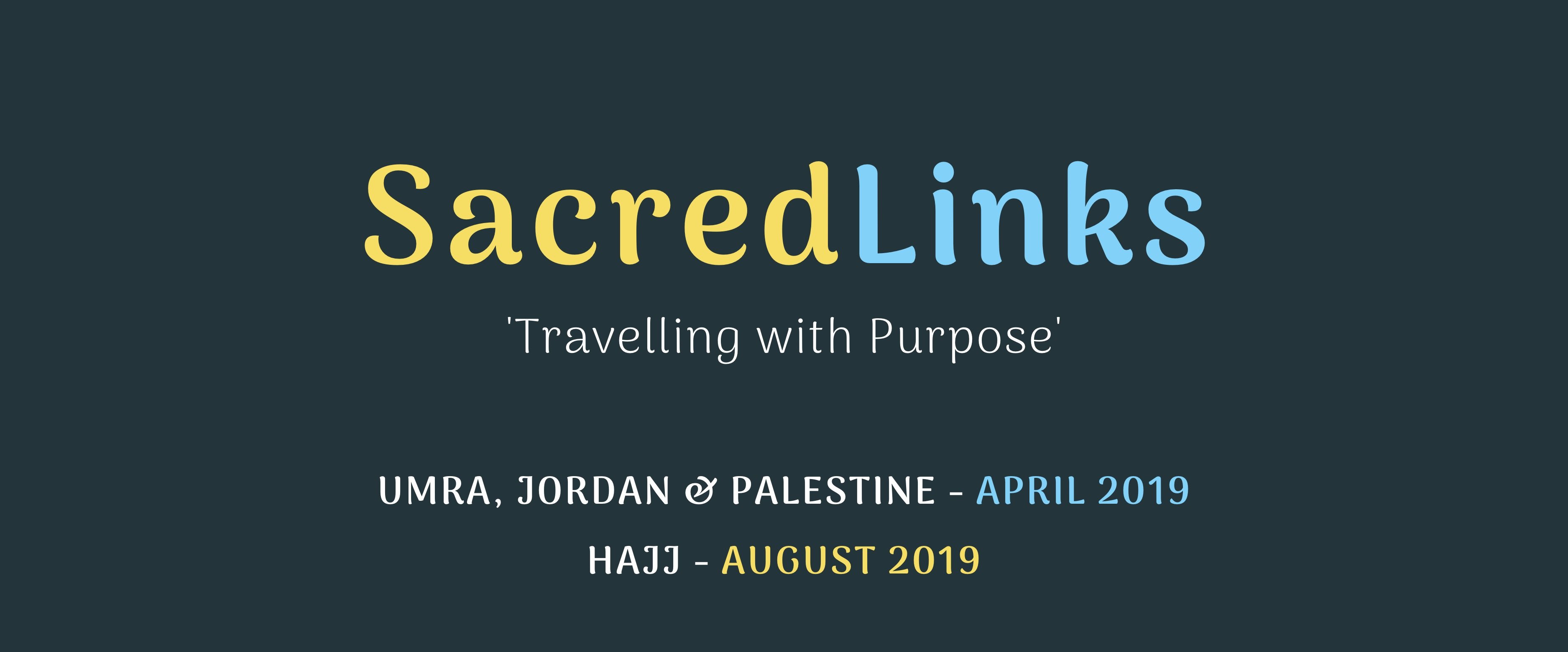 Sacred Links - Travelling with Purpose
